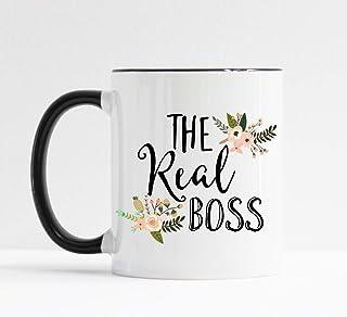 The Real Boss Mug/Administrative Assistant Gift/Administrative Professional/Secretary Present