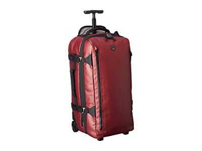 Victorinox VX Touring Coated Wheeled Medium Duffel (Beetroot) Duffel Bags