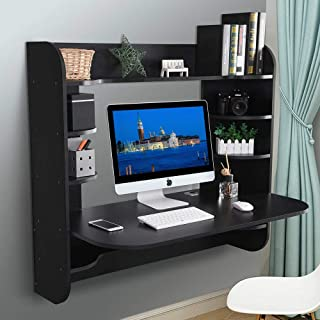 wall mounted computer table