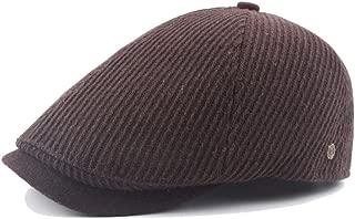 Hemlock Berets Hats Men, Vintage Painter's Hats Unisex Cotton Hat Director Berets Hat Cap (Coffee)
