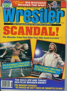 The Wrestler Magazine : Scandal! The Wrestler Cries Foul After Two Title Controversies (November 1988)