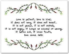 1 Corinthians 13 :4-8