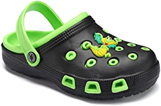 JUXI Toddler Sandals Baby Boys Girls Cute Cartoon Clogs & Mules Kids Slippers