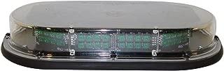 North American Signal MMBSLEDFL-C/G LED Mini Light Bar, Permanent Mount, Green