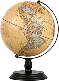 ワールドグローブフォーキッズ-ジオグラフィーアースグローブスタンドデスクトップジオグラフィックグローブ学習玩具子供向け-ジオグラフィーラーニングトイ,25cm/10inch