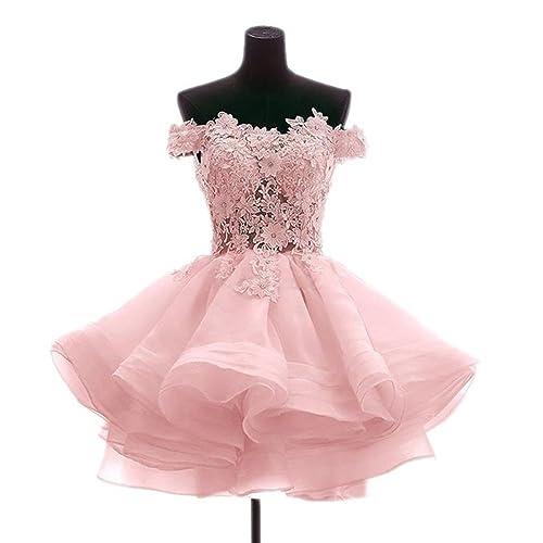 Short Pink Prom Dresses: Amazon.com