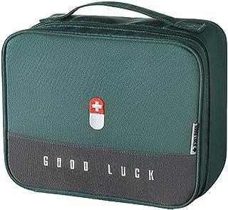 Scicalife Sac de premiers secours vide à haute capacité, sac de course, sac de médecine, boîte de rangement pour voiture, ...