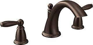 Moen T4943ORB Brantford 2-Handle Deck Mount Roman Tub Faucet Trim Kit Valve Required, Oil Rubbed Bronze