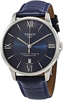 Tissot Chemin des Tourelles Powermatic 80 Stainless Blue Leather 42mm T099.407.16.048.00