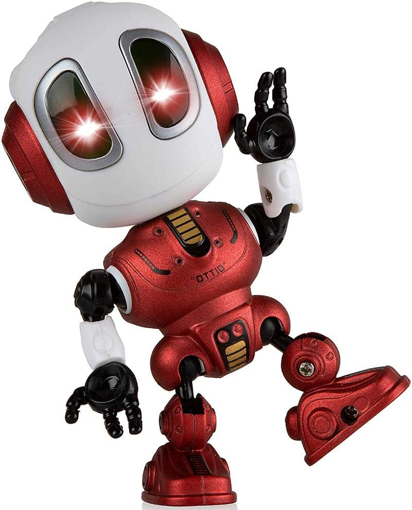 SYOKZEY Fun Gifts for 3-8 Year Old Robot Popular overseas Talking Cool Kids Toys Beauty products