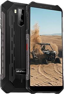 Ulefone Armor X5 (2020) Mobiele telefoon, android 10 4G, 32 GB geheugen, 3 GB RAM, 5000 mAh-batterij, smart button, waterd...