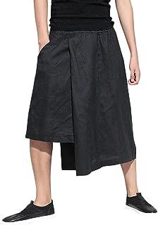 Men Baggy Elastic Waist Black Harem Pants Yoga Genie Trouser GYM22 A