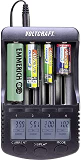 VOLTCRAFT CC-2 Batteriladdare NiMH, NiCd, LiIon AA (R6), AAA (R3), C (R14), Sub-C, 26650, 26500, 18650, 17670, 18490, 1