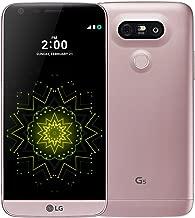 LG G5 H860 32GB 5.3-Inch 16MP + 8MP Dual SIM LTE FACTORY UNLOCKED Smartphone - International Stock No Warranty (PINK)