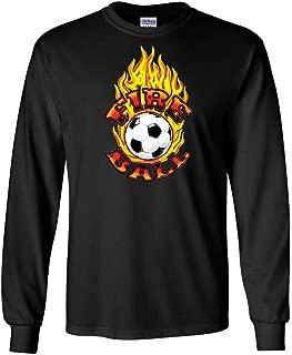Fireball Soccer Long Sleeve Tee T-shirt Top Pure Sport