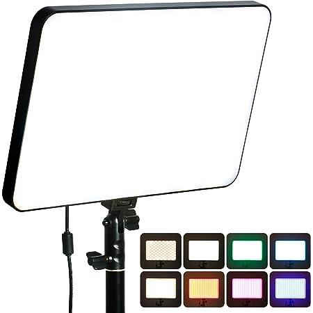 VILTROX プロ超薄型 LEDビデオライト Spriite 40 ビデオ撮影用ライト RGB撮影ライト フルカラー 2500-8500K色温度 輝度調節 3500LM CRI95+ スマホアプリ制御可 17種類シーン スタジオ撮影 写真照明 撮影照明