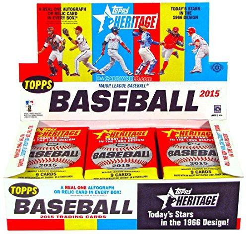 Topps 2015 Heritage Baseball Hobby Box MLB