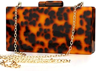 Puedo Women Evening Bag Acrylic Clutch Purse Perspex Box Colorful Geometric Design Handbags Shoulder Crossbody Bag