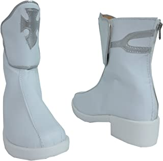 Asuna Yuuki White Short Halloween Cosplay Shoes Boots