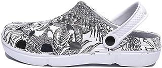 WYTX Sandalias Planas de Verano Deslizamiento de los Hombres en Agua Transpirable Playa Playa Zapatos de Playa Moda Zapato...