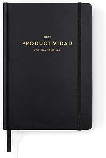 100% Black Productivity Diary
