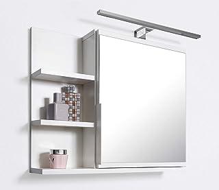 Armario de baño con espejo Domtech con estantes e iluminaci