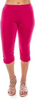 Women's Stretchy Capri Pants