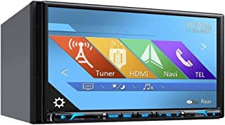 Clarion NX706 2-DIN DVD Multimedia Station with Built-in Navigation, 7 Touch Panel Control