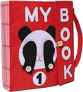 Per Libros de Bricolaje Blandos de Material Montessori