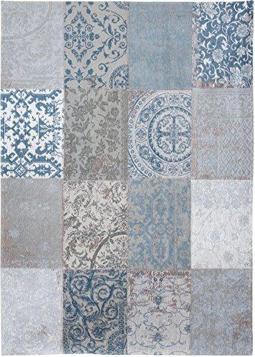 Louis de Poortere tapijt Vintage Brugge Blauw 8981 80cm x 150cm