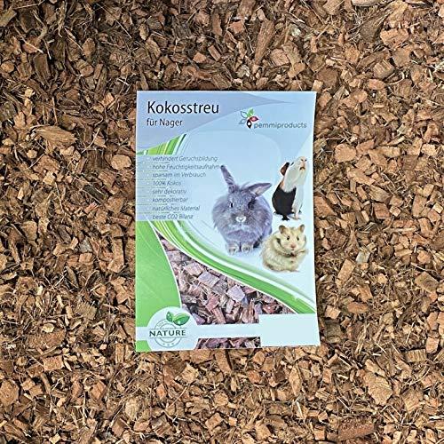 Kokoseinstreu grob, Bodengrund für Kleintiere, 50 Liter
