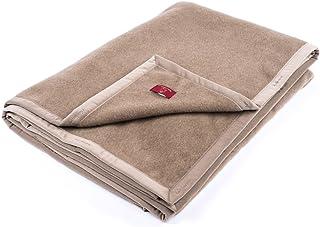 Ritter Decken Wolldecke Kaschimoon 100% 150 x 200 ungefärbten feinstem Kaschmir in mongolgrau. Die Kaschmirdecke ist weich, warm und kuschelig. Die Wohndecke ist hochwertig verarbeitet.