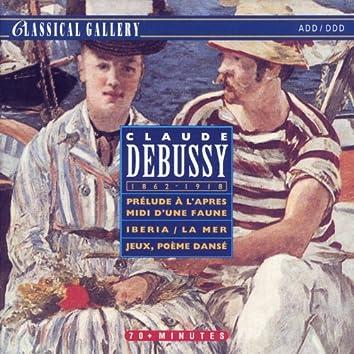 Debussy: Prelude a l'apres-midi d'une faune, Iberia, La mer, Jeux