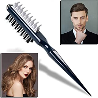 OUTERDO Hair Comb, Hair Styling Comb Portable Two-Sided Multifuncional Combing Brush, Hair Styling Tool Suitable for All H...