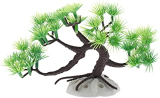 P Prettyia 水槽 アクアリウム内装 オーナメント 装飾品 人工 水生植物 松の木 水槽飾り 木盆栽 柔軟 現実的