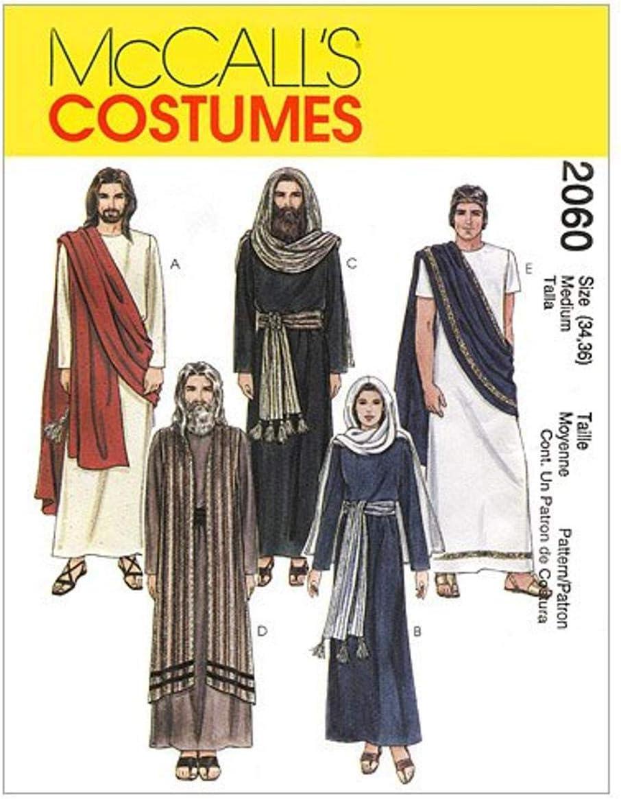 per Uomini e Donne Cartamodello per Costumi di Scena Taglia M Deutsche Gr/ö/ße 32 MC Calls 2060