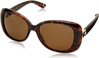 POLAROID Women's Sunglasses Rectangular PLD 4051/S - Dkhavana