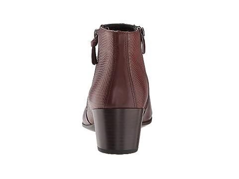Black Cow Bison LeatherDeep ECCO Cow 35 Deep Boot Taupe M TaupeMink Ankle Leather Shape Black BOwXSx