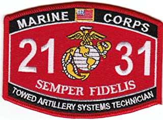 2131 Towed Artillery Systems Technician MOS Patch