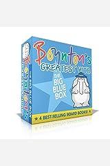 Boynton's Greatest Hits The Big Blue Box: Moo, Baa, La La La!; A to Z; Doggies; Blue Hat, Green Hat (Boynton Board Books) Board book