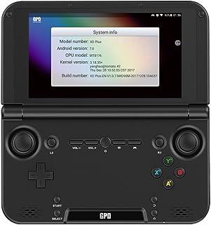 GPD XD Plus 日本仕様設定,Android7.0搭載,MediaTek MT8176,5.0inch液晶, RAM4GB, ROM32GB,6000mAh