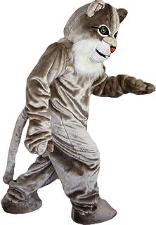 Langteng grå katt hariy tecknad maskot kostym äkta bild 15-20 dagar leverans märke