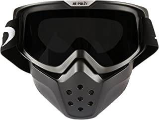 Aooaz Shark Mask Goggles Off Road Motorcycle Outdoor Riding Sand Proof Goggles