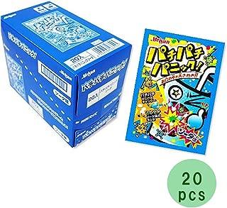 Pachi Pachi Panic Soda Taste 0.2oz 20pcs Box Japanese Dagashi Meiji NInjapo