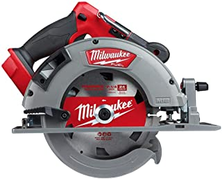 Milwaukee 2732-20 M18 Fuel 18 Volt Lithium-Ion 15 Amp 7-1/4 Inch Cordless Circular Saw (Tool Only) (Non-Retail Packaging)