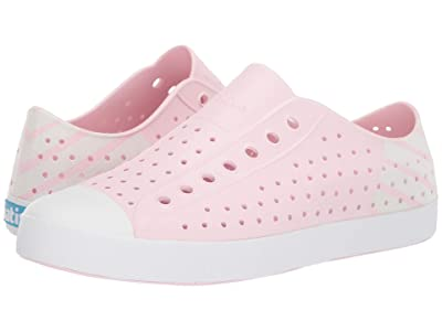 Native Shoes Jefferson (Blossom Pink/Shell White/Shell White Glow Block) Shoes