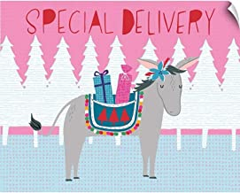 CANVAS ON DEMAND Special Delivery Wall Peel Art Print, 36