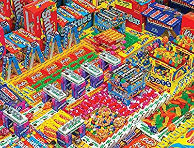 Springbok's 500 Piece Jigsaw Puzzle Candyscape - Made in USA by Springbok