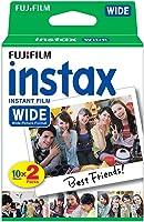 instax WIDE film, 20 pack, Vit ram