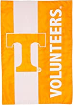 Team Sports America Collegiate University of Tennessee Embroidered Logo Applique Garden Flag, 12.5 x 18 inches Indoor Outd...